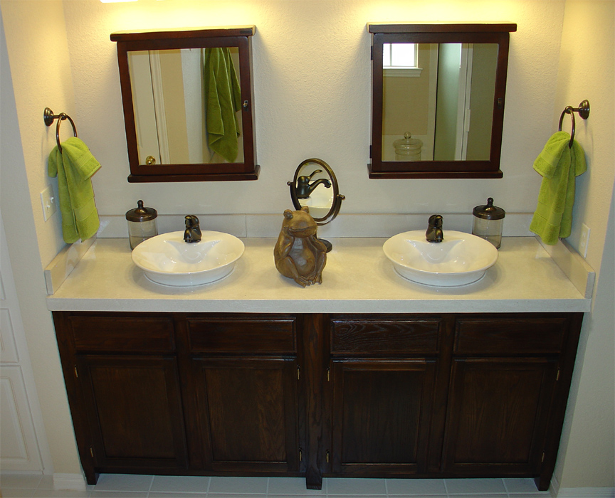Pricing austin concrete countertops for Bathroom countertops