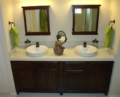 Modern Bathroom Countertops Design