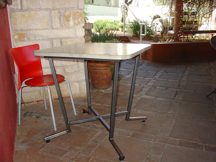 Concrete Cafe Bar Tables And Tops Austin Concrete