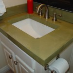 polished concrete countertop austin