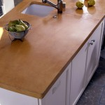 troweled concrete countertop austin