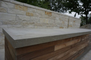 austin concrete countertop outdoor