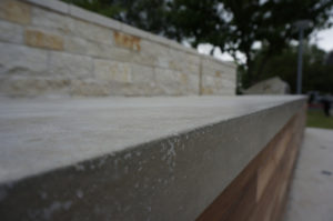 concrete countertop outdoor austin