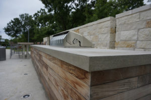 concrete countertops outdoor austin